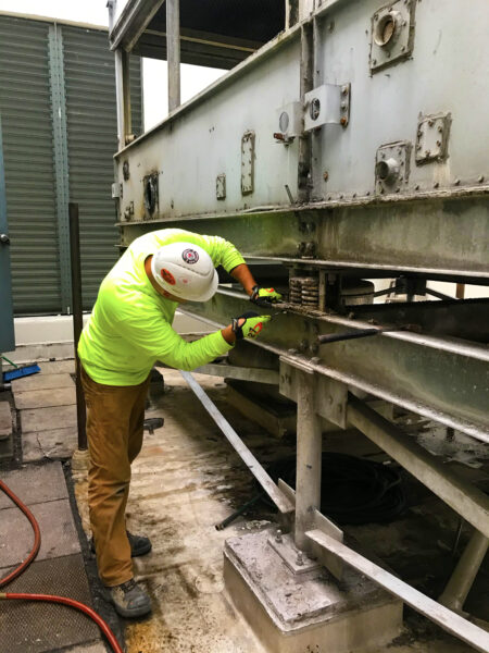 Cooling Tower Removal