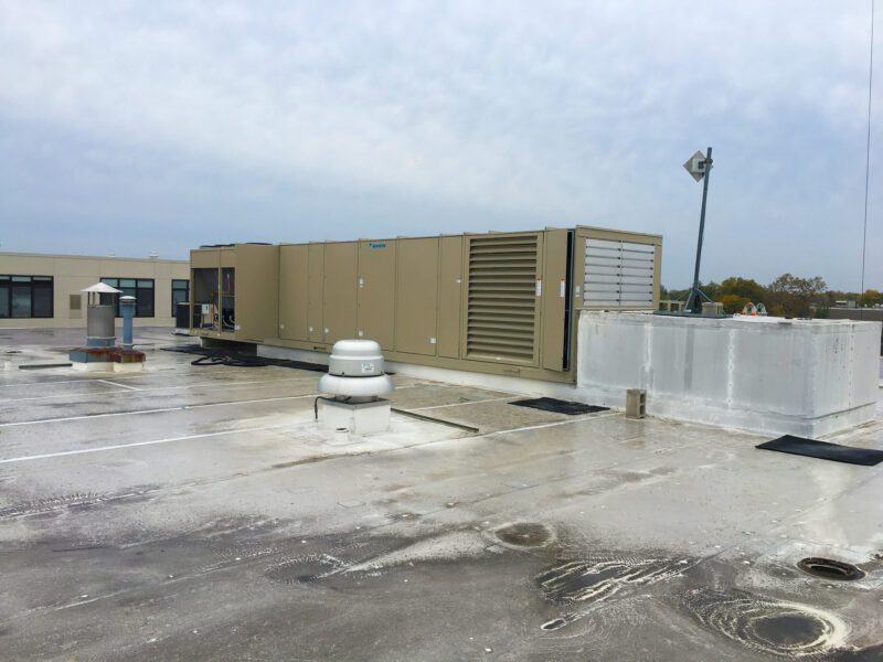 THE NEW DAIKIN IS IN PLACE